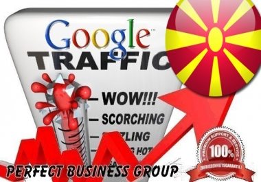 Organic traffic from Google.mk (Macedonia) with your Keyword