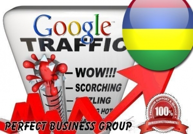 Organic traffic from Google.mu (Mauritius) with your Keyword