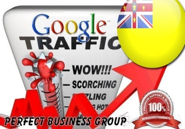 Organic traffic from Google.nu (Niue) with your Keyword