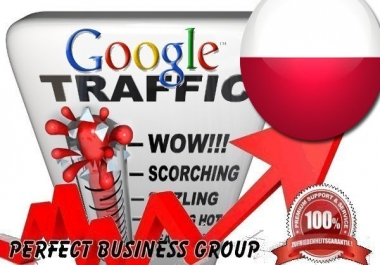 Organic traffic from Google.pl (Poland) with your Keyword