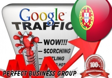 Organic traffic from Google.pt (Portugal) with your Keyword