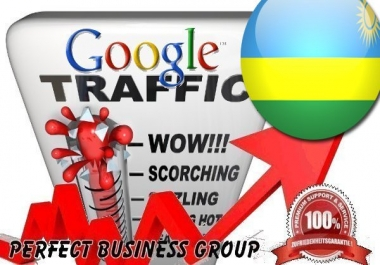 Organic traffic from Google.rw (Rwanda) with your Keyword