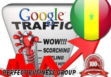 Organic traffic from Google.sn (Senegal) with your Keyword