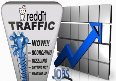 Social Traffic from Reddit