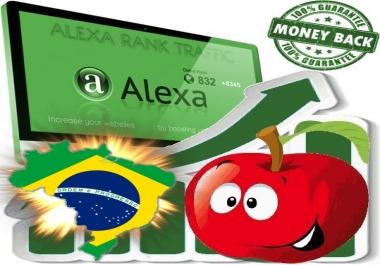 Increase your Brasilian Alexa Rank (Brazil)