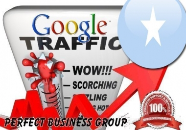 Organic traffic from Google.so (Somalia) with your Keyword