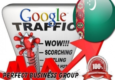 Organic traffic from Google.tm (Turkmenistan) with your Keyword