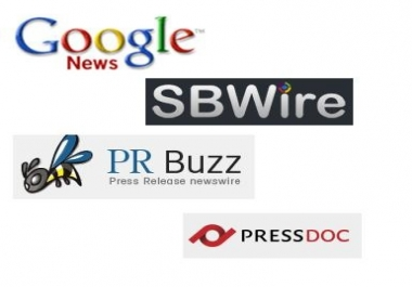 Submit your Press Release to ReleaseWire, PRBuzz and PressreleasePing Top 3 Paid Press Release Websites