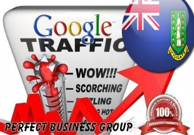 Organic traffic from Google.vg (British Virgin Islands) with your Keyword