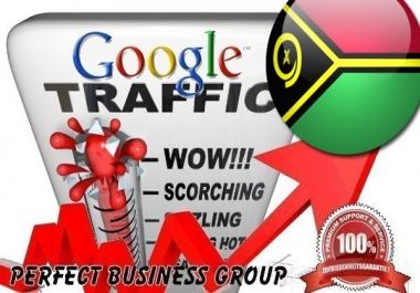 Organic traffic from Google.vu (Vanuatu) with your Keyword