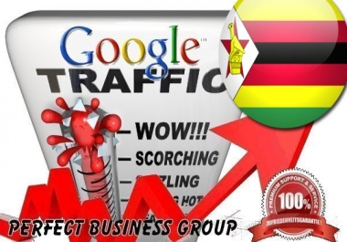 Organic traffic from Google.co.zw (Zimbabwe) with your Keyword