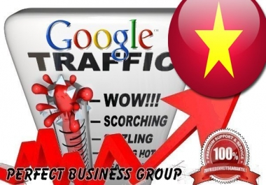 Organic traffic from Google.com.vn (Vietnam) with your Keyword