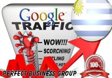 Organic traffic from Google.com.uy (Uruguay) with your Keyword