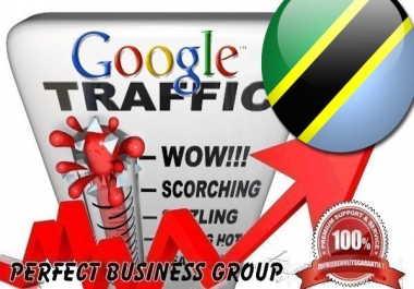Organic traffic from Google.co.tz (Tanzania) with your Keyword