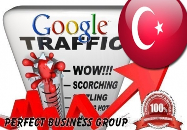 Organic traffic from Google.com.tr (Turkey) with your Keyword