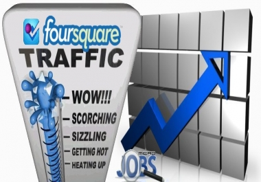 Social Traffic from Foursquare