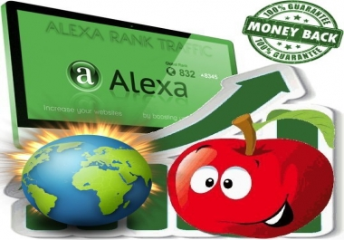 Increase Global Alexa Rank to under 750k