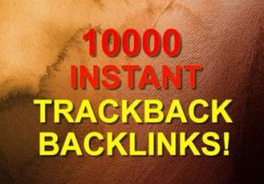 will submit 10000 trackbacks for your website with Anchor text withing _24 hours and full report