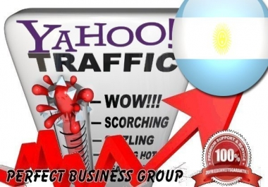 Organic Visitors from Yahoo AR (Argentina) with your Keyword