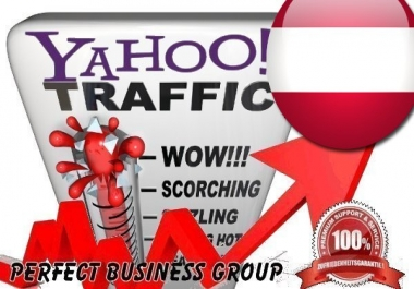 Organic Visitors from Yahoo AT (Austria) with your Keyword