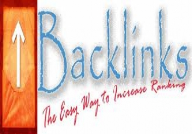 create 2,000 back links for your web page for