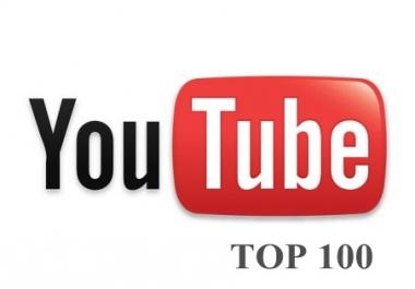 give you 5000 you tube views,100 likes,50 subscribers