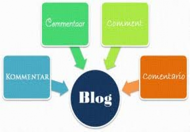 provide 50 High PR Blog Comments PR6x3 PR5x7 PR4x15 PR3x25 Dofollow Backlinks for
