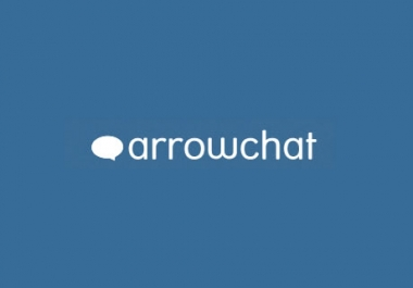 I will install arrow chat feature on your blog website
