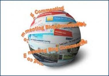 do Manually Low OBL Blog Commenting 1 PR6, 3 PR5, 7 PR4, 7 PR3 High pr Pages for