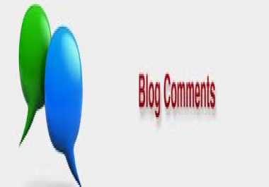 ★ ★ ★ ★ do 20 Unique Domain Blog Comments all dofollow and manual done for