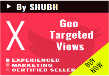 Add 20000 Geo Targeted Youtube Views