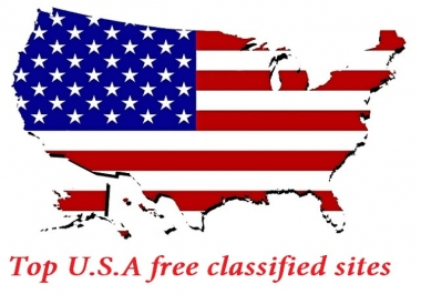 30 Classified Ads on Top USA sites
