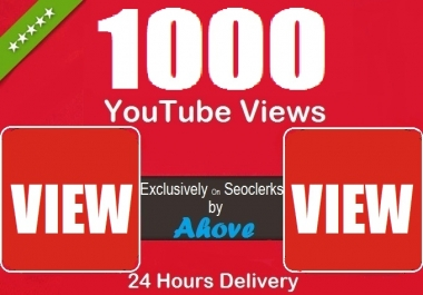 Get 1000+ YouTube Views In Your Video