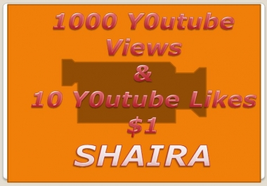 Add 1,000+ You Tube views & 10 Likes Free on your Video