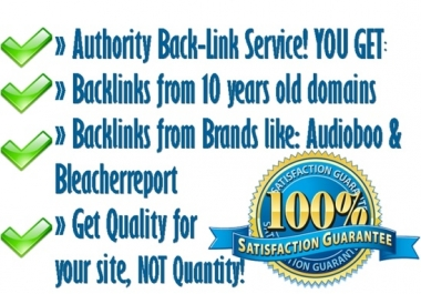 give you (twenty Five) 25 PR 5 to PR7 Authority_ Backlinks from Famous Brands