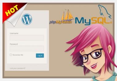 Change WordPress password in mysql phpmyadmin