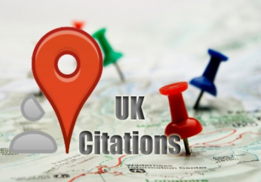 submit your business details on the TOP 60 UK CITATION SITES to boost your google places listing