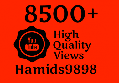 Adding Super Fast 8000-8500 High Quality YouTube Views