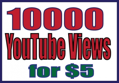 provide you 2000-2500 YouTube views within 24 hours