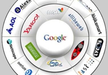 submit 5 of your websites to 140 search engines to reach out to wider audience