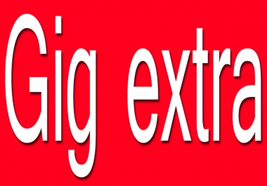 This servie for gig extra purchase solution