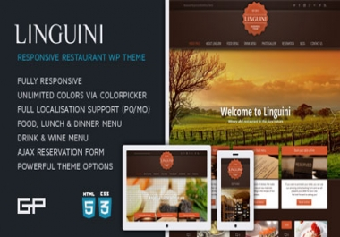 Sell Off WP Full Theme for Restaurant Responsive