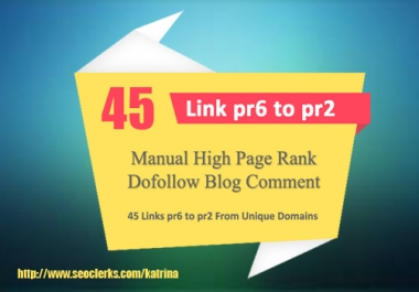 Give You Penguin and Panda Safe Manual 45 Unique Domain Backlinks Actual Pr6 To Pr2