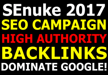 Run A Powerful SEO Campaign For 2017 Top Rankings