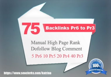 provide manually 75 dofollow permenent backlinks that will boost your ranking on google