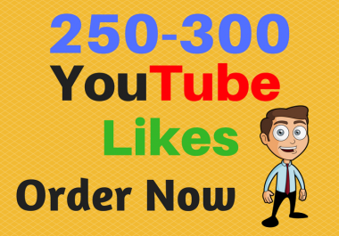 give you 250-300 YouTube boost In 24 Hours