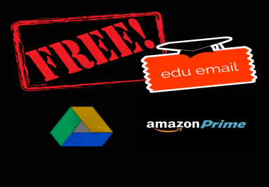 Free EDU Email signup Tutorial for amazon prime, unlimited google drive and more