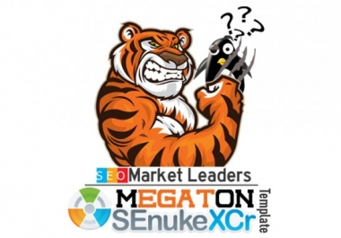 WE WILL create SEO backlinks by Senuke xCR Loved by 15K Buyers