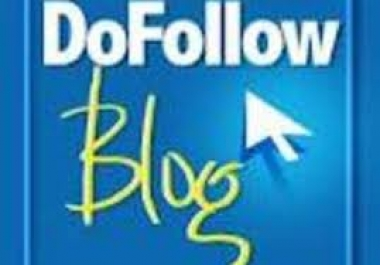do Manual Highpr 1PR7 2PR6 5PR5 5PR4 5PR3 7PR2 DOFOLLOW Blog Comment backlinks for