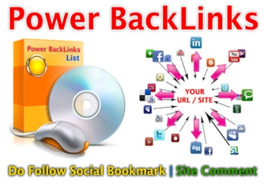 Send you Special 85+ Social Bookmark 2019 + 100+ Web Site for BOOST you SITE RANK !!!